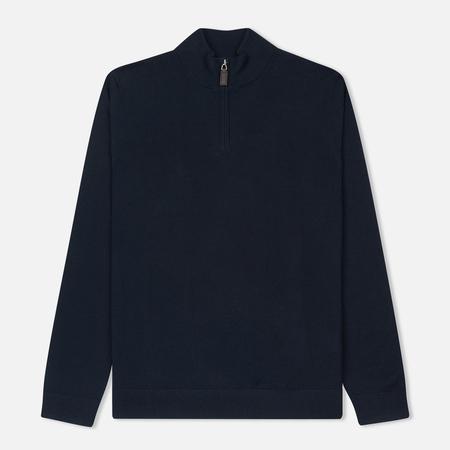 Мужской свитер Aquascutum Hamilton Half Zip Knit Navy