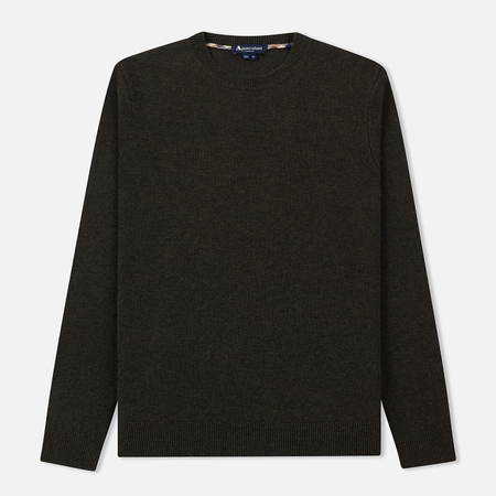 Мужской свитер Aquascutum Lance Lambswool Crew With Elbow Military