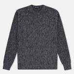 Мужской свитер Aquascutum Victor Alpaca Crew Neck Charcoal фото- 0