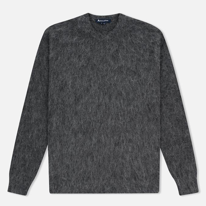 Мужской свитер Aquascutum Victor Alpaca Crew Neck Charcoal