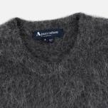 Мужской свитер Aquascutum Victor Alpaca Crew Neck Charcoal фото- 1