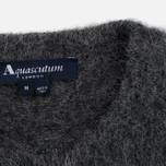 Мужской свитер Aquascutum Victor Alpaca Crew Neck Charcoal фото- 3