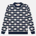 Мужской свитер Armor-Lux Heritage Voilier Blue/Mastic фото- 0