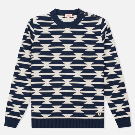 Armor-Lux Heritage Men's Sweater Voilier Blue/Mastic