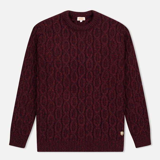Мужской свитер Armor-Lux Pull Heritage Burgundy Red