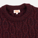 Мужской свитер Armor-Lux Pull Heritage Burgundy Red фото- 1