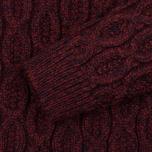 Мужской свитер Armor-Lux Pull Heritage Burgundy Red фото- 2