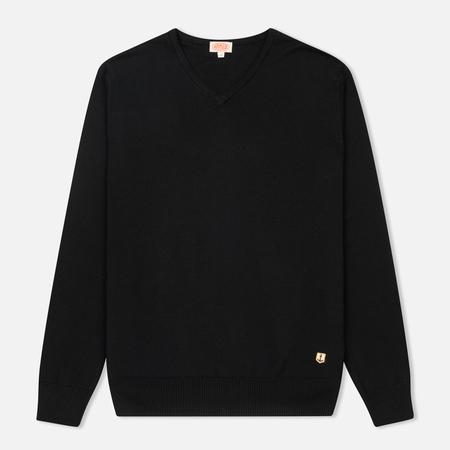 Мужской свитер Armor-Lux V-Neck Heritage Black