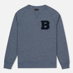 Мужской свитер Barbour B Crew Neck Dark Chambray фото- 0