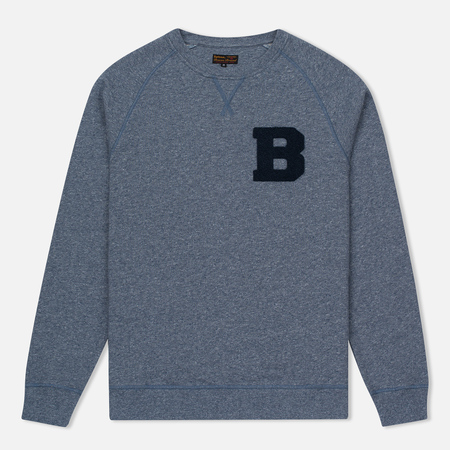 Мужской свитер Barbour B Crew Neck Dark Chambray