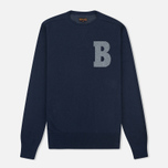Мужской свитер Barbour B Crew Neck Navy фото- 0