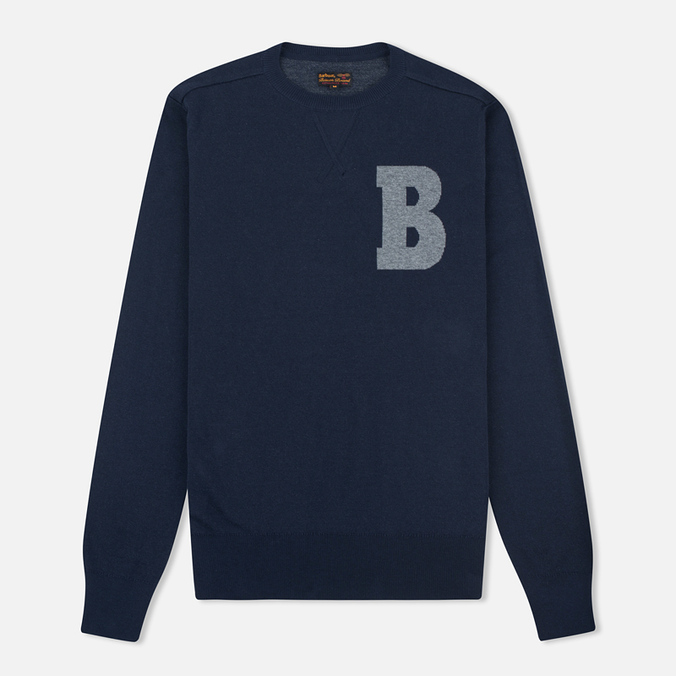 Мужской свитер Barbour B Crew Neck Navy
