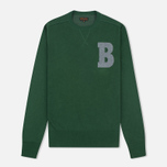 Мужской свитер Barbour B Crew Neck Racing Green фото- 0