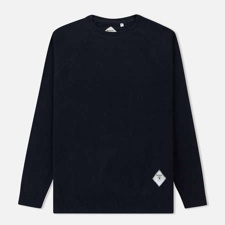 Мужской свитер Barbour Beacon Lambswool Crew Navy