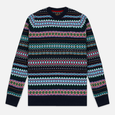 Мужской свитер Barbour Caistown Fair Isle Midnight Blue