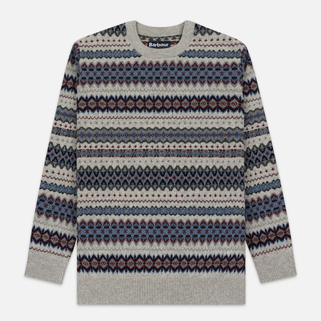 Мужской свитер Barbour Case Fairisle Crew Fog