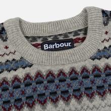 Мужской свитер Barbour Case Fairisle Crew Fog фото- 1