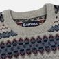 Мужской свитер Barbour Case Fairisle Crew Fog фото - 1