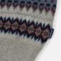 Мужской свитер Barbour Case Fairisle Crew Fog фото - 3