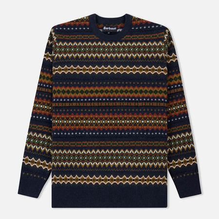 Мужской свитер Barbour Case Fairisle Crew Navy Marl