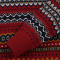 Мужской свитер Barbour Case Fairisle Crew Rich Red фото - 2