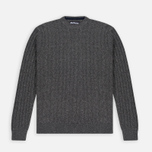 Barbour Essential Cable Crew Men's Sweater Grey Marl photo- 0