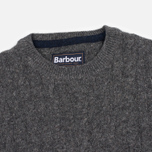 Мужской свитер Barbour Essential Cable Crew Grey Marl фото- 1