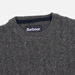 Barbour Essential Cable Crew Men's Sweater Grey Marl photo- 1