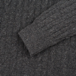 Barbour Essential Cable Crew Men's Sweater Grey Marl photo- 2