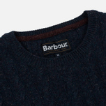 Мужской свитер Barbour Essential Cable Crew Indigo фото- 1