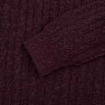 Мужской свитер Barbour Essential Cable Crew Merlot фото- 2
