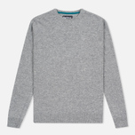 Мужской свитер Barbour Essential Lambswool Crew Neck Grey фото- 0