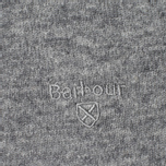 Мужской свитер Barbour Essential Lambswool Crew Neck Grey фото- 3
