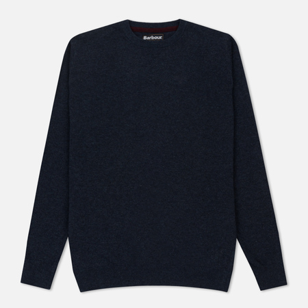 Мужской свитер Barbour Essential Lambswool Crew Neck Indigo
