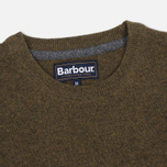 Мужской свитер Barbour Essential Lambswool Crew Neck Olive фото- 1