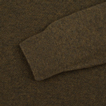 Мужской свитер Barbour Essential Lambswool Crew Neck Olive фото- 2