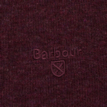 Мужской свитер Barbour Essential Lambswool V-Neck Merlot фото- 2