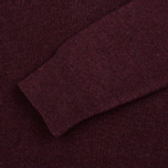 Мужской свитер Barbour Essential Lambswool V-Neck Merlot фото- 3