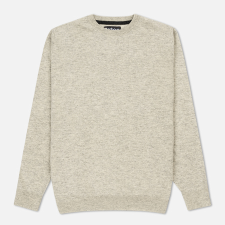 Мужской свитер Barbour Essential Lambswool Crew Neck Fog