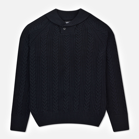 Мужской свитер Barbour Galloway Cable Shawl Neck Navy