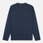 Мужской свитер Barbour Harry Crew Neck Navy фото- 0