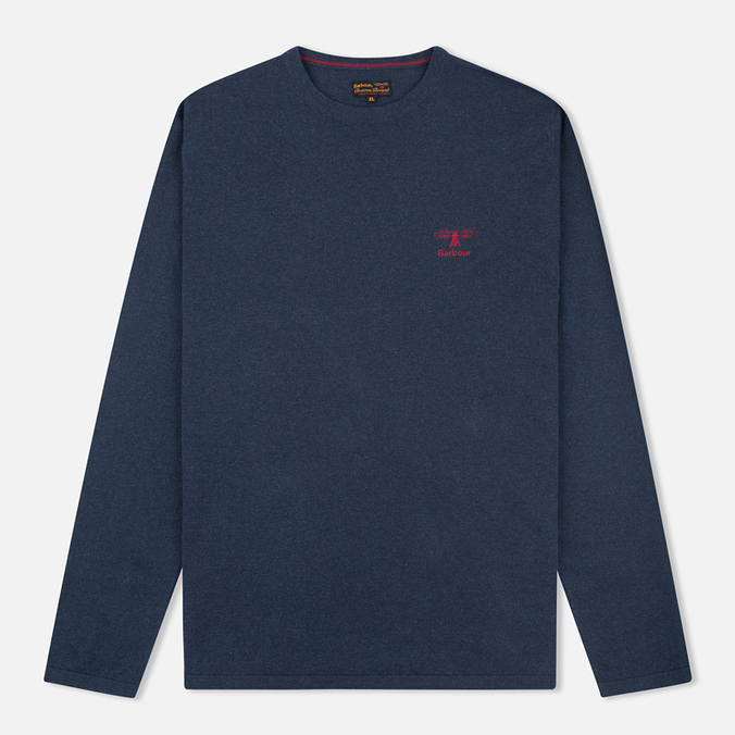 Мужской свитер Barbour Harry Crew Neck Navy
