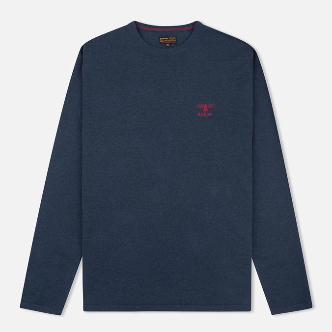Мужской свитер Barbour Harry Crew Neck Navy