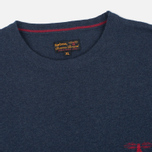 Мужской свитер Barbour Harry Crew Neck Navy фото- 1