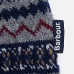 Мужской свитер Barbour Harvard Fairisle Crew Neck Grey Marl фото- 3