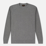 Мужской свитер Barbour Heritage Bearsden Crew Neck Grey Marl фото- 0