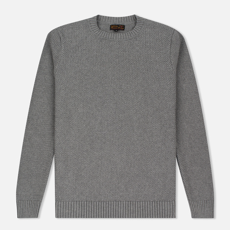 Barbour Heritage Bearsden Crew Neck Men's Sweater Grey Marl
