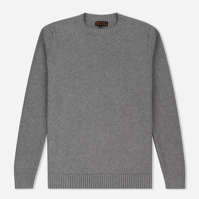 Мужской свитер Barbour Heritage Bearsden Crew Neck Grey Marl