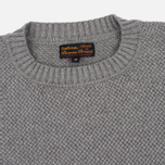 Мужской свитер Barbour Heritage Bearsden Crew Neck Grey Marl фото- 1