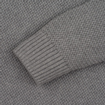Мужской свитер Barbour Heritage Bearsden Crew Neck Grey Marl фото- 2